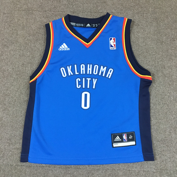 huge selection of 77d10 c62a6 Russell Westbrook Oklahoma City Thunder NBA Jersey